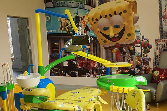 cabinetul Sponge Bob